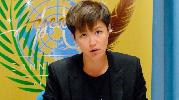 Hong Kong pop singer Denise Ho