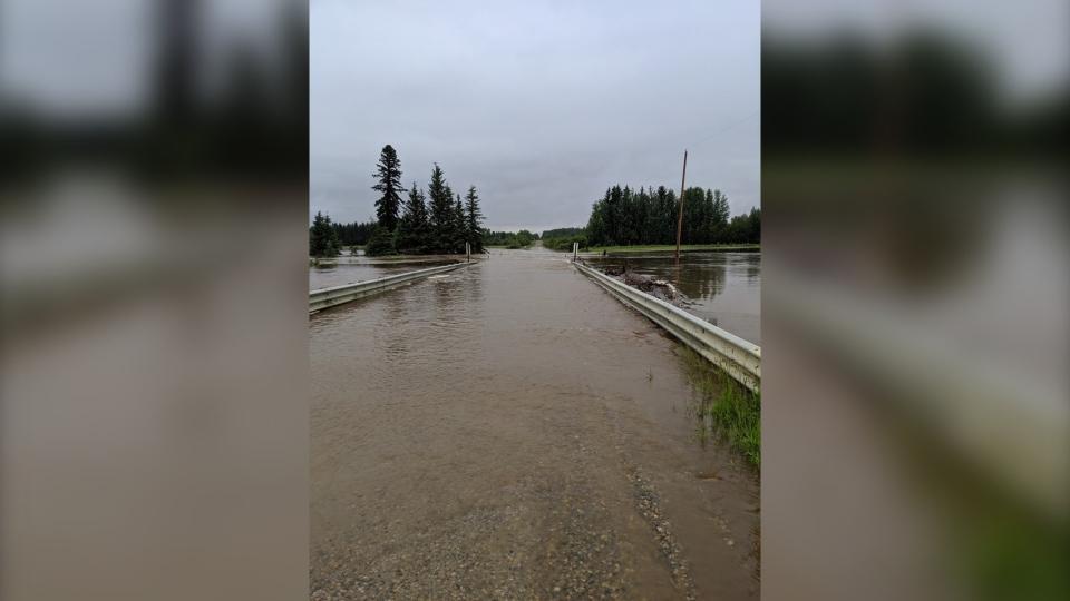 Yellowhead County flooding
