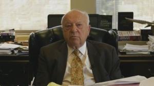 Civil rights lawyer Julius Grey