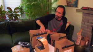 Rob opens up some packages mysteriously delivered to his home in Etobicoke.