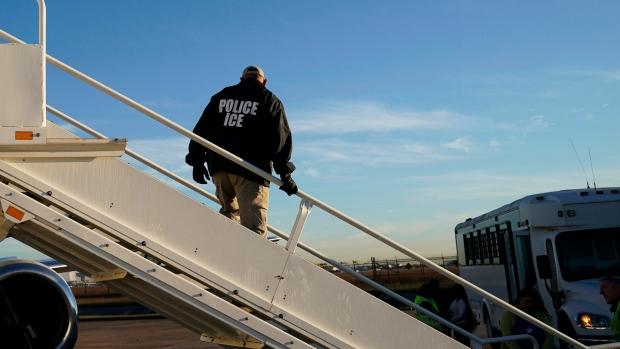 United States ICE agents