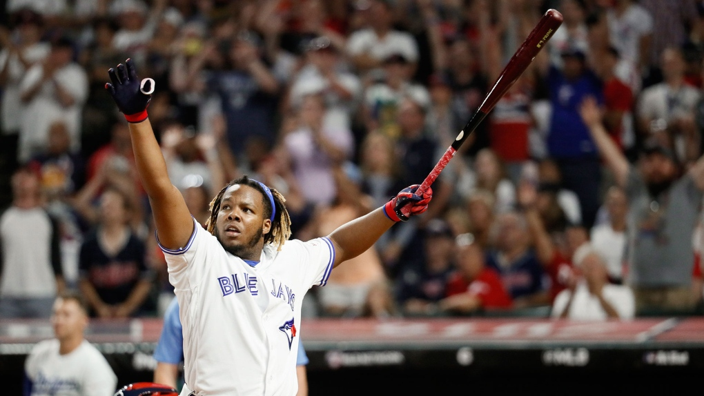 Guerrero Jr. smashes 29 home runs to set single-round record at Derby