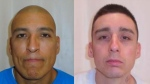 Two men on the loose after escaping from a B.C. p