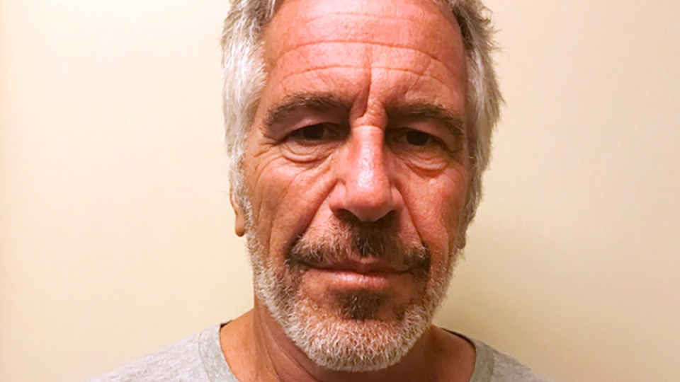 This March 28, 2017 image provided by the New York State Sex Offender Registry shows Jeffrey Epstein. (New York State Sex Offender Registry via AP)