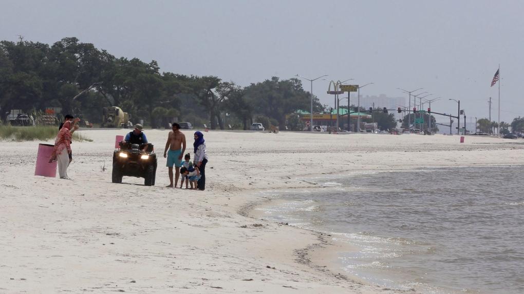 Mississipi beach