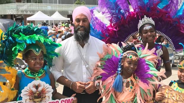 Jagmeet Singh, Carnival