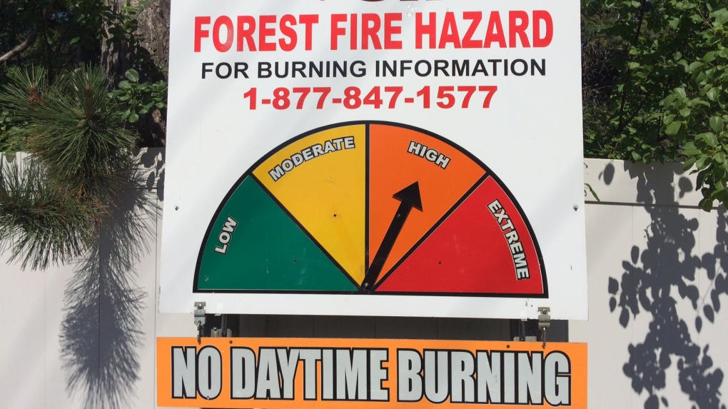 Flooding to fire bans: Muskoka sets fire danger rating to high