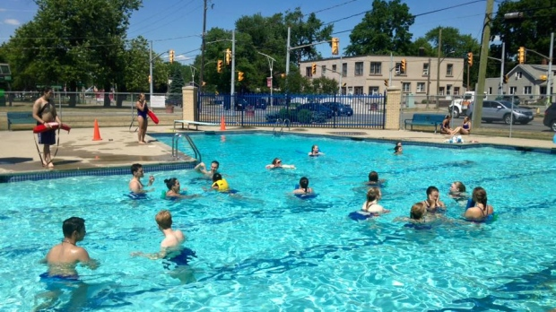LaSalle outdoor pool reopens, boat ramp still closed | CTV