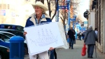 Daniel James Hicks, better known as Sailor Dan, could often be spotted on Saskatoon's streets.
