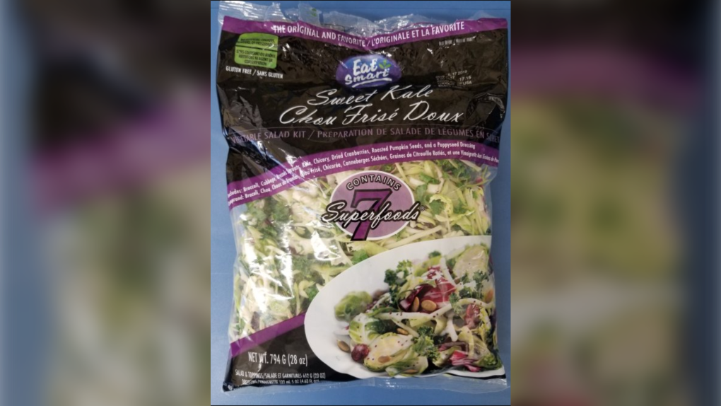 CFIA issues food recall warning of Eat Smart salad product over Listeria concerns