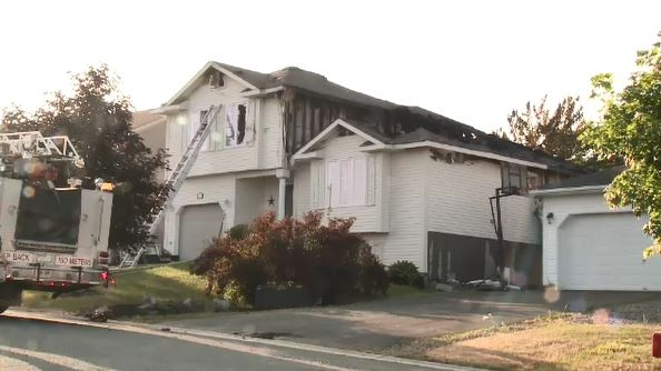 Sudbury South End fire displaces family of five
