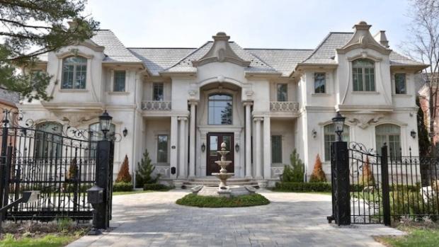 Toronto Bridle Path mansion