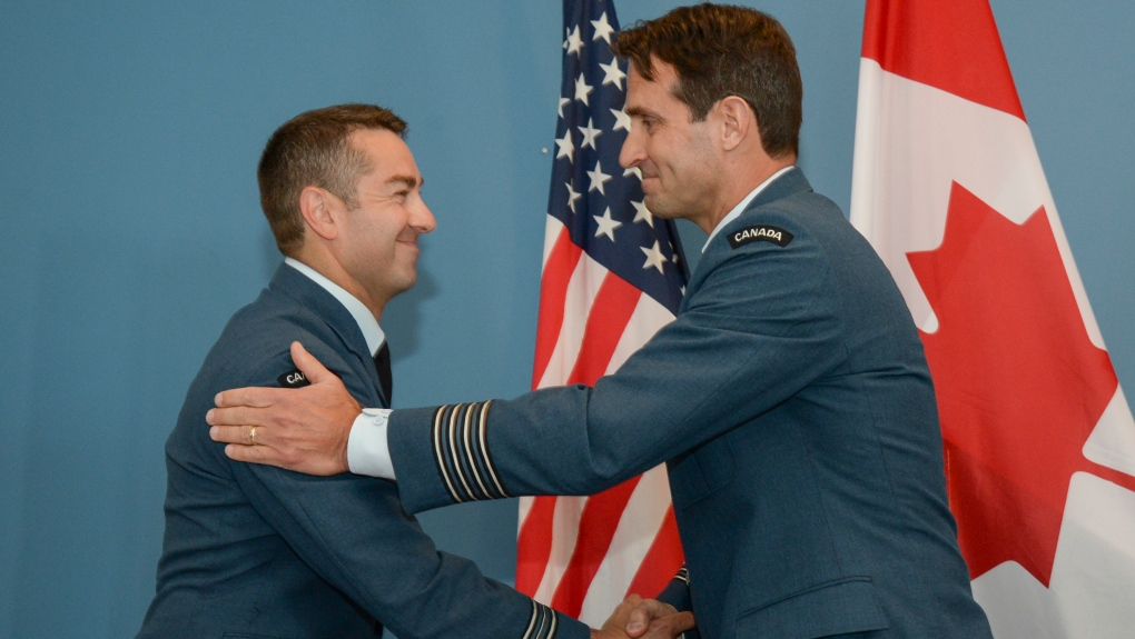Change of command at North Bay Canadian Forces Base