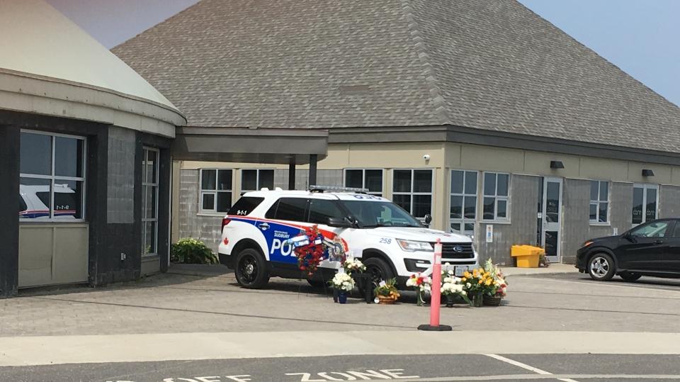 Funeral for Sudbury officer killed in Hwy 69 crash (Lyndsay Aelick/CTV Northern Ontario)