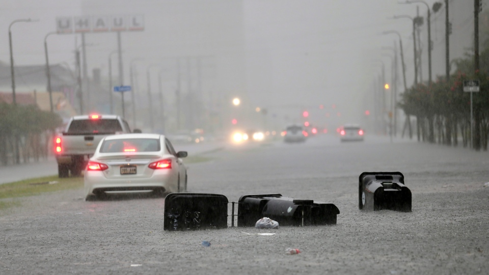 New Orleans storm, flooding
