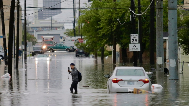 New Orleans flooding, heavy storm