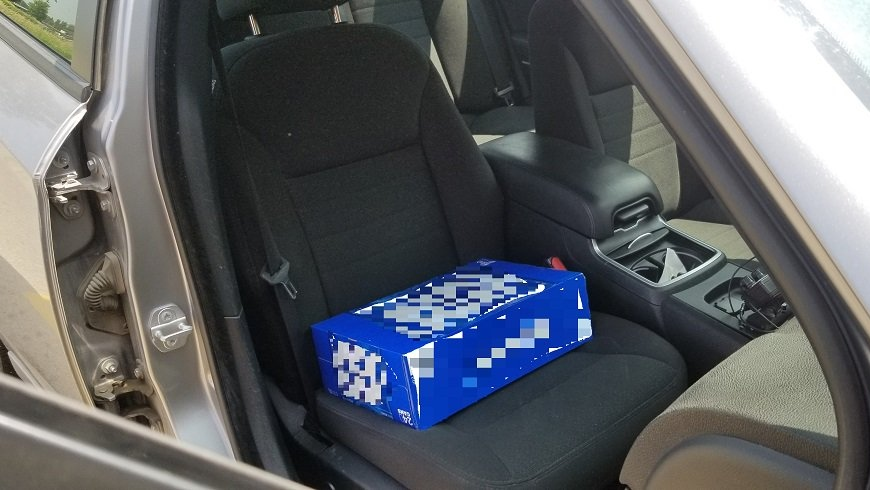 Beer booster seat