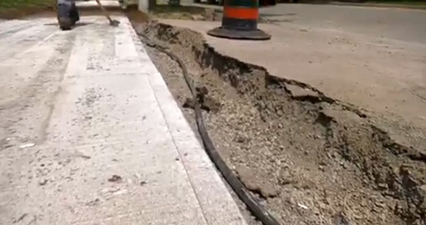 Scarborough residents say sidewalk replacement has left neighbourhood in disarray