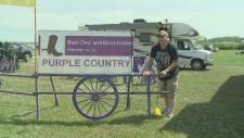 Purple Country Paradise