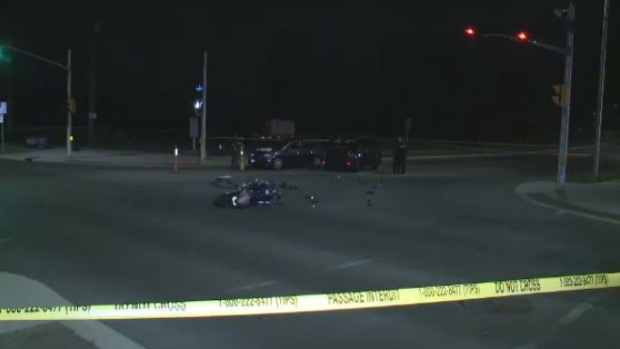 Barrhaven motorcycle crash