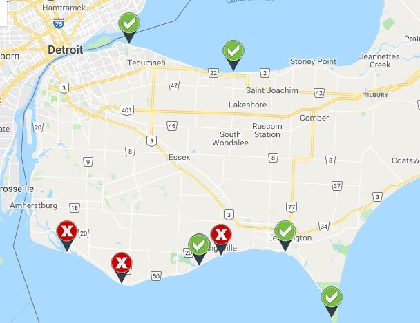 Three beaches closed, one listed as unsafe for swimming | CTV News