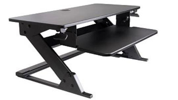 A recall of standing desks distributed in Canada by Knape and Vogt under several brand names covers 4,000 workstations. (Knape and Vogt / Health Canada)