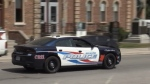 A Shleburne police cruiser (Mike Walker/CTV Barrie)