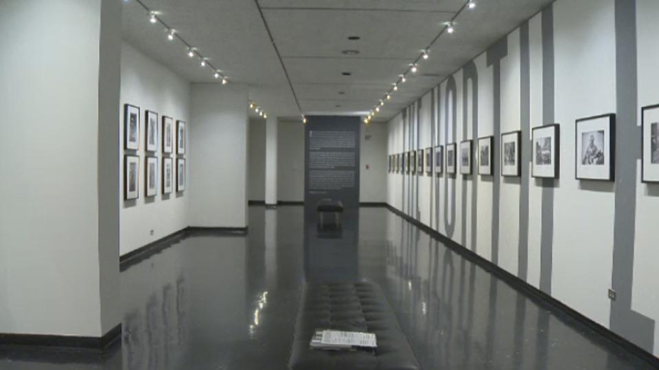 The exhibit runs until Nov. 3.