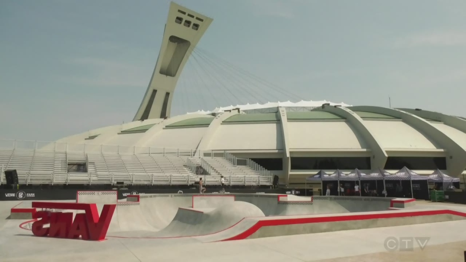 The Vans Park series Pro tour competition takes place on July 12 and 13 at the Olympic Park.