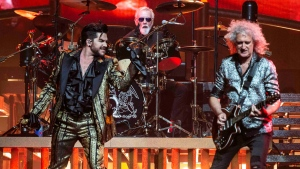 "Adam Lambert and Queen kicked off the ""Rhapsody"" tour in Vancouver with original band members Roger Taylor and Brian May. (Anil Sharma)"