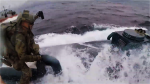 Caught on cam: Coast Guard's dramatic takedown