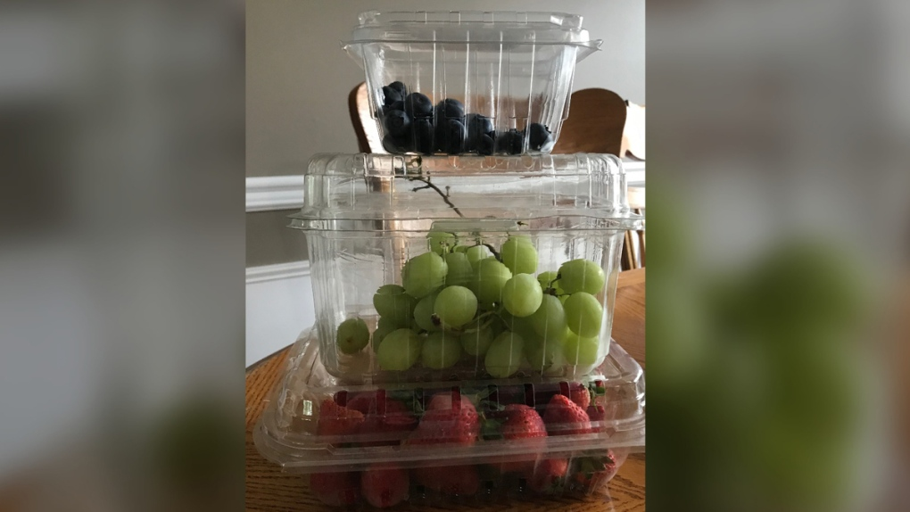 #1 Plastic food containers
