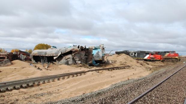 Broken axle in Landis train derailment: TSB | CTV News Saskatoon