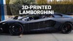 Father and son building 3D-printed Lamborghini