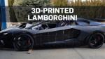 Father and son building 3D-printed Lamborghini