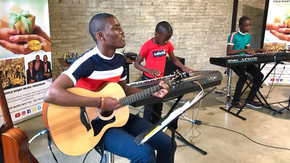 Talented young Edmonton musicians giving back with a new summer camp
