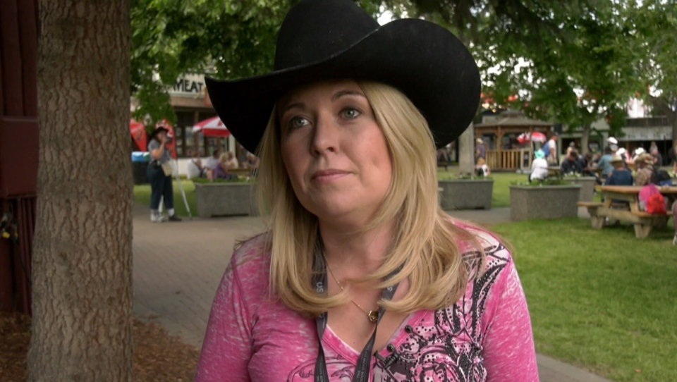 Calgary Nose Hill MP, Michelle Rempel, says she's frustrated with the lack of progress with Calgary's Green Line during an interview at the Calgary Stampede