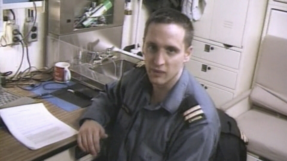 Lt. Chris Saunders, a 32-year-old combat systems engineer from New Brunswick, succumbed to smoke inhalation in the 2004 fire aboard HMCS Chicoutimi. (CTV Vancouver Island)