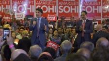 Trudeau and Sohi