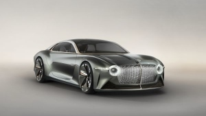For its 100th anniversary Bentley has unveiled a spectacular concept car representing its vision of an all-electric, self-driving Gran Turismo that's coming to dealerships in 2035. (Courtesy of Bentley Bentley EXP 100 GT)