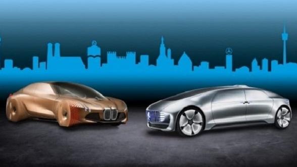 BMW and Daimler concept cars