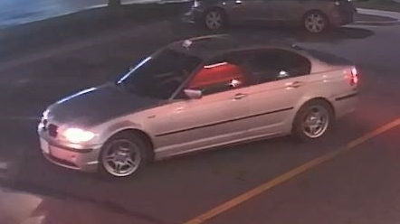 A man police are looking to speak to for a hit-and-run investigation was seen driving this silver BMW (July 12, 2019) (Source: WRPS)