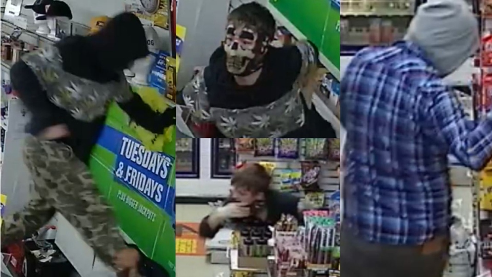 Police are looking to identify two males in connection to a convenience store robbery. (July 12, 2019) (Source: WRPS)