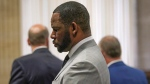 Singer R. Kelly pleaded not guilty to 11 additional sex-related felonies during a court hearing before Judge Lawrence Flood at Leighton Criminal Court Building Thursday, June 6, 2019 in Chicago. (E. Jason Wambsgans/Chicago Tribune via AP, Pool)