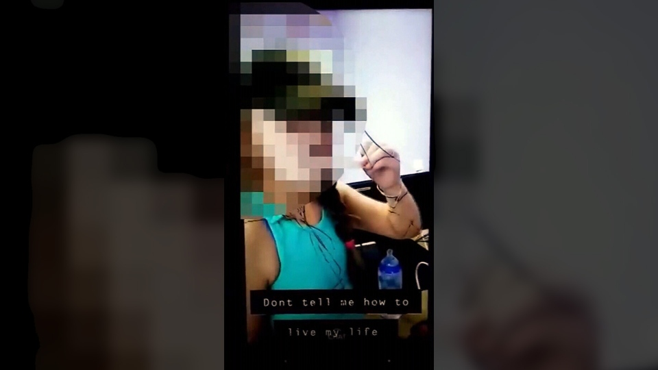 A Florida mom faces a possible felony charge after she recorded her 10-year-old daughter licking a tongue depressor at a doctor's office and returning it to a jar. (CNN Newsource)