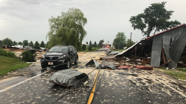 Environment Canada confirms tornado struck campground north of Montreal