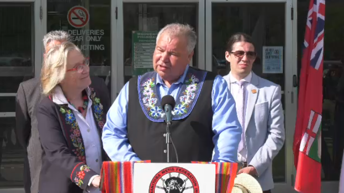 """""""This is a museum of our people, who we are, what we've become, and how we became who we are,"""" said MMF president David Chartrand at the announcement Friday."""