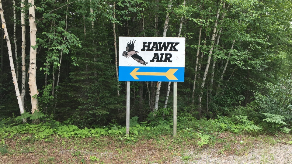 Hawk Air (Nicole Di Donato/CTV Northern Ontario)
