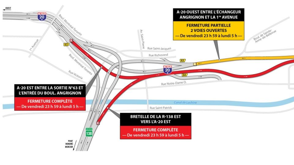 Highway 20 closure