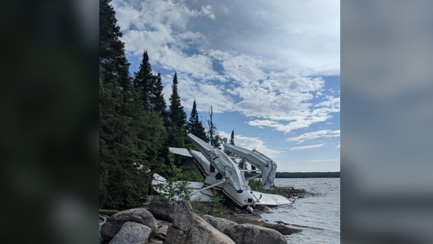 Float Plane Crash